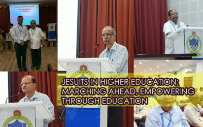 JESUITS IN HIGHER EDUCATION: MARCHING AHEAD, EMPOWERING THROUGH EDUCATION