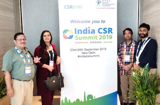 JCI's participation at 6th CSR Summit 2019, New Delhi