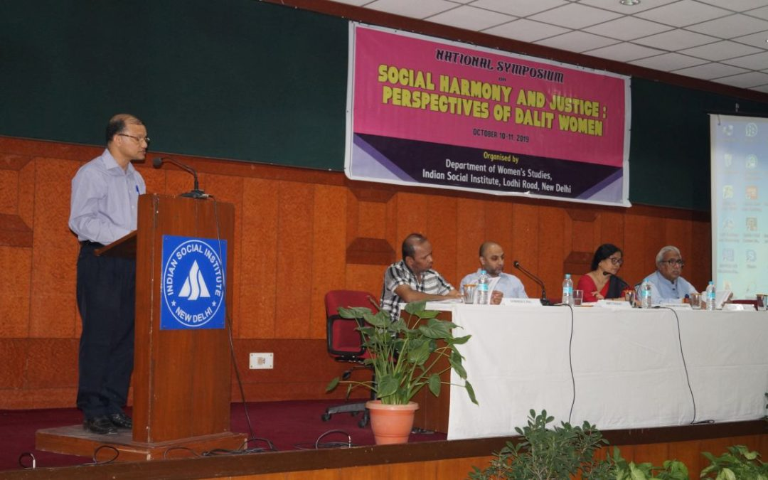 "National Symposium on ""Social Harmony and Justice: Perspectives of Dalit Women"