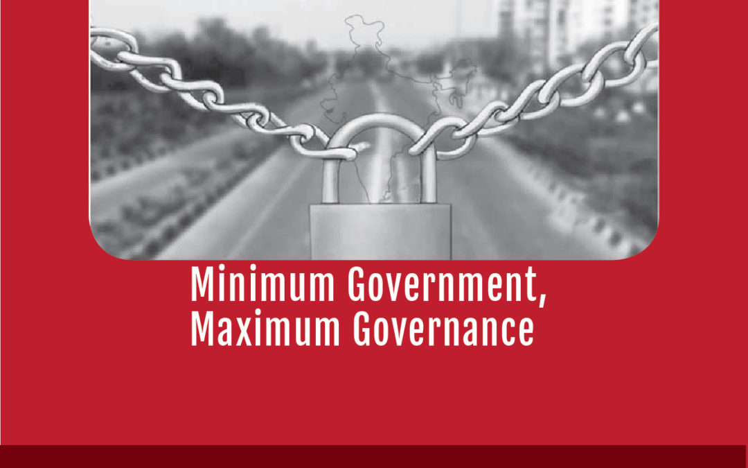 Minimum Government, Maximum Governance by Prakash Louis, SJ