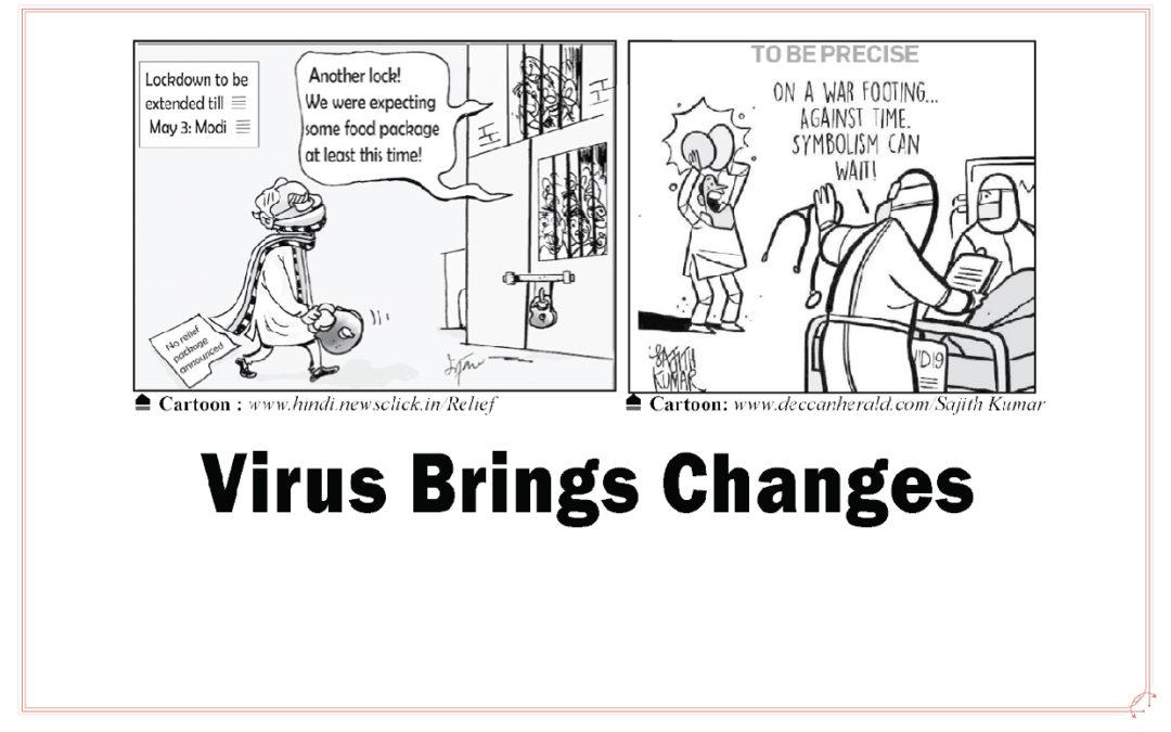 VIRUS BRINGS CHANGE: Sunny Jacob, SJ