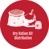 Dry Ration Kit Distribution