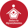 Shelters for Migrants Homeless