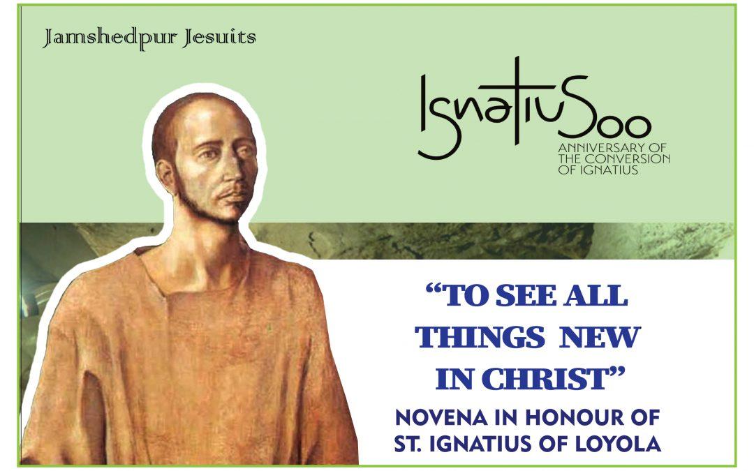 NOVENA IN HONOUR OF ST.IGNATIUS OF LOYOLA