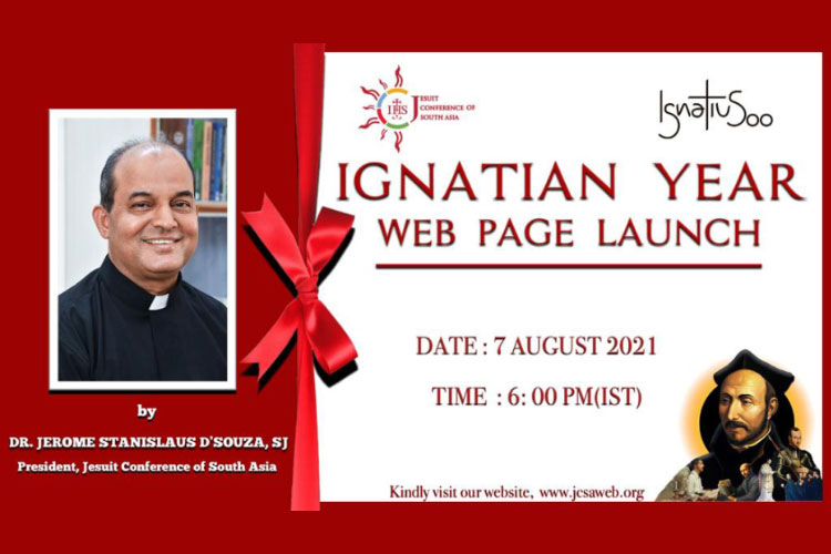 Ignatian Year web page inauguration
