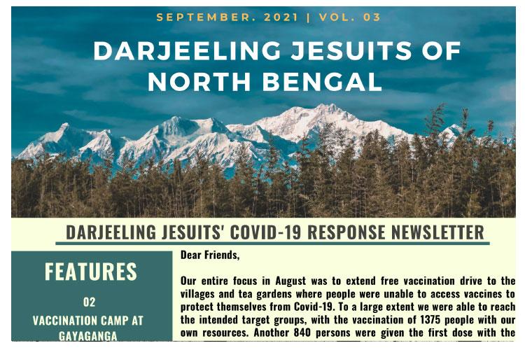 DARJEELING JESUITS' COVID-19 RESPONSE